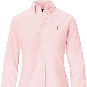 Ralph Lauren Women's Oxford Button Down Shirt